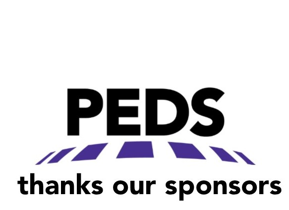 PEDS thanks our sponsors