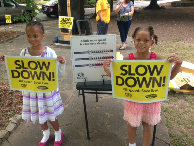 Slow down event