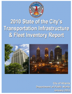 State of Atlanta's Transportation Infrastructure report